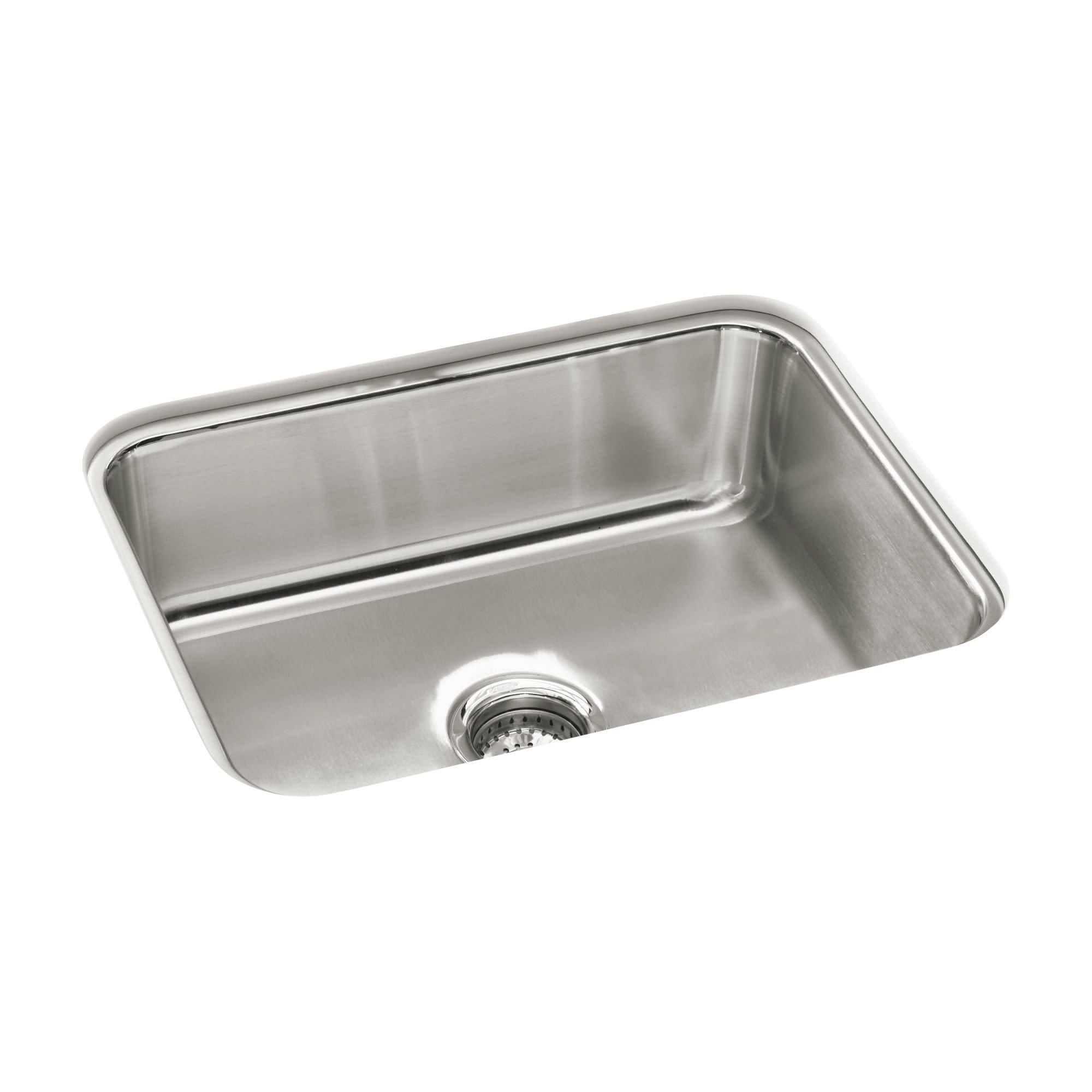 Details about Sterling 11447-NA McAllister 24  Undermount Stainless Steel Kitchen Sink  sc 1 st  eBay & Details about Sterling 11447-NA McAllister 24