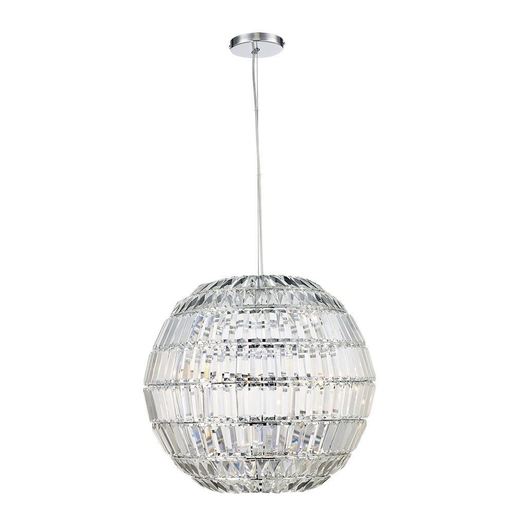 fa01b911b58 Trans Globe Lighting JI-3 Polished Chrome Ellis 5-Light 20