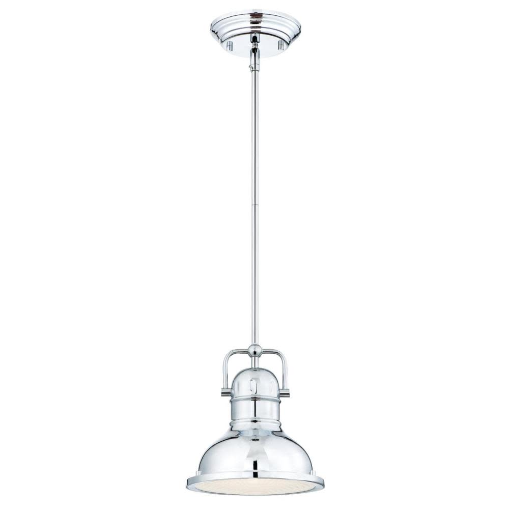 "Westinghouse 63086A Boswell 11/"" Wide 1-Light LED Pendant with Metal Shade"