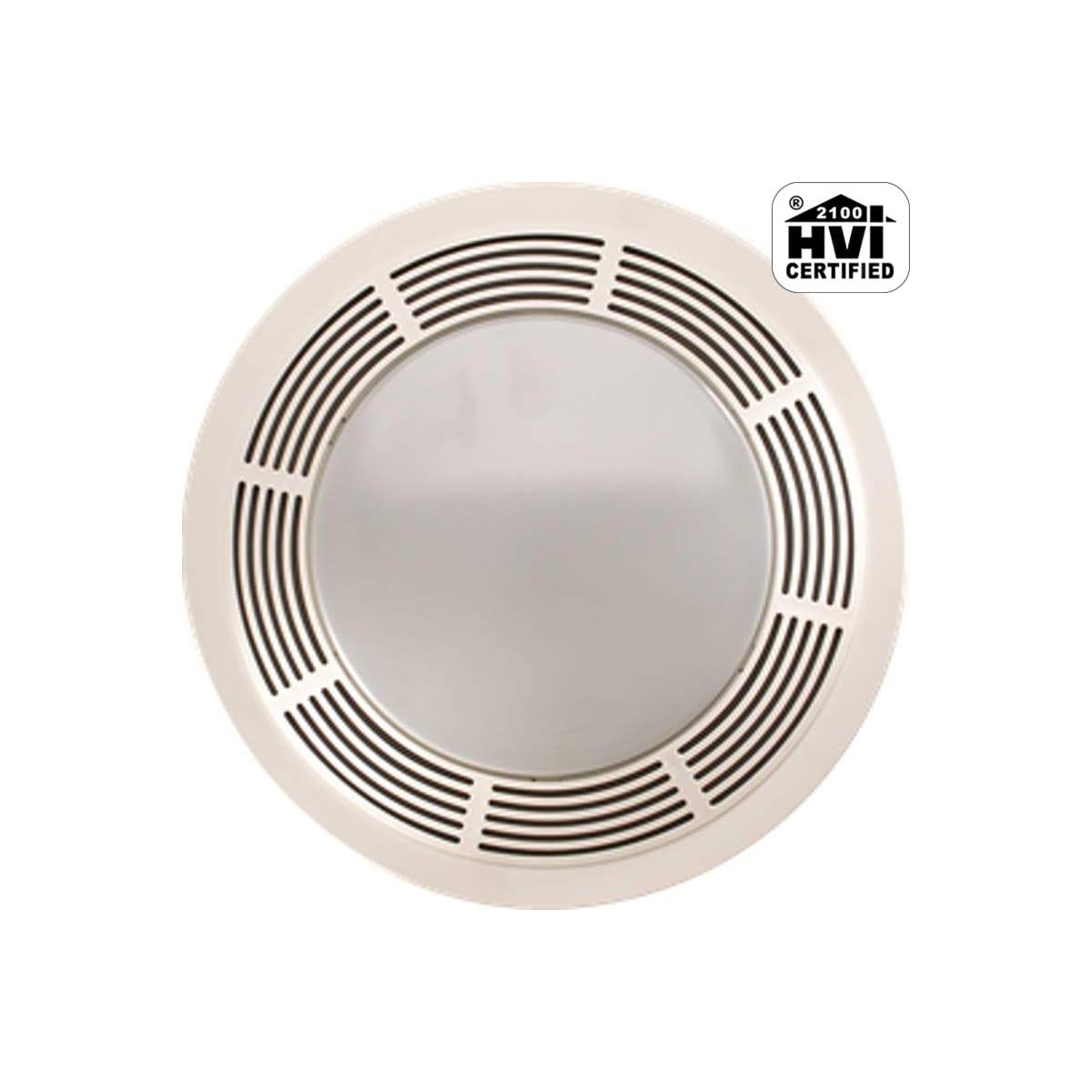 Broan 751 100 Cfm Bath Fan Light Combo, Bathroom Light And Fan Combo