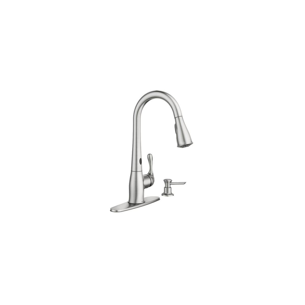 Moen 87340esrs Ridgedale Pulldown Kitchen Faucet Build Com