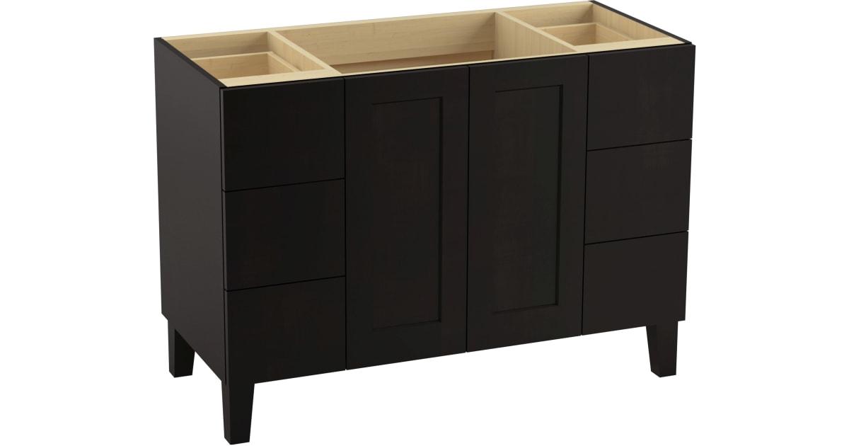 Kohler K 99535 Lg 1wu Poplin 48 Vanity Cabinet Build Com