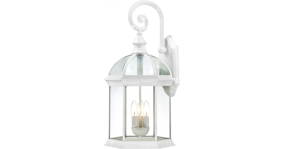 """Nuvo 60-4961 15/"""" Outdoor Wall Lighting in White Finish"""
