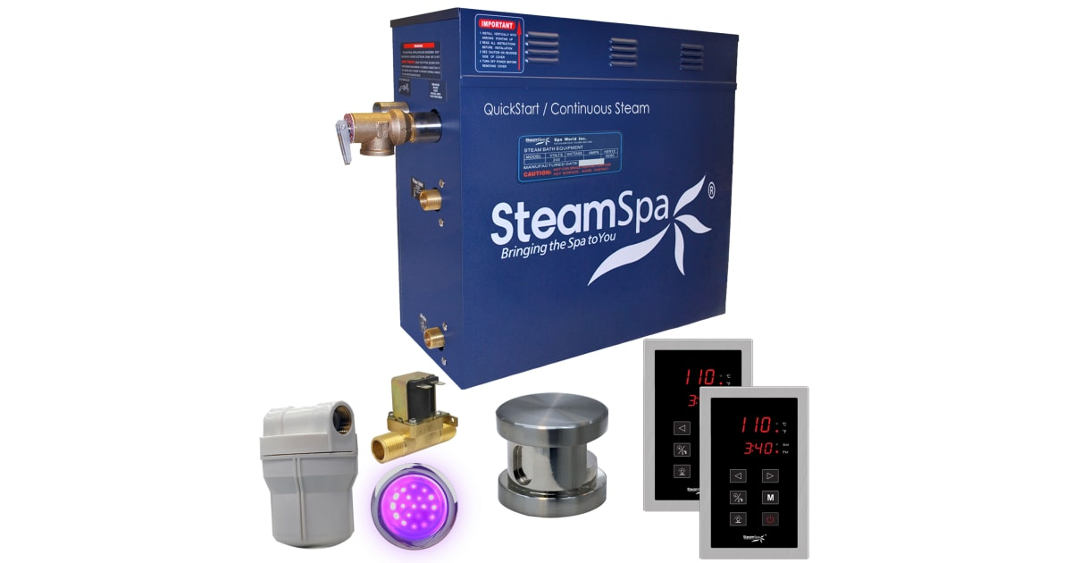 Steamspa Ryt600bn A Royal 6 Kw Quickstart Build Com