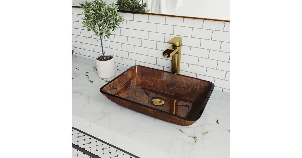 Vigo Vgt1470 Russet 13 Vessel Bathroom Sink Build Com