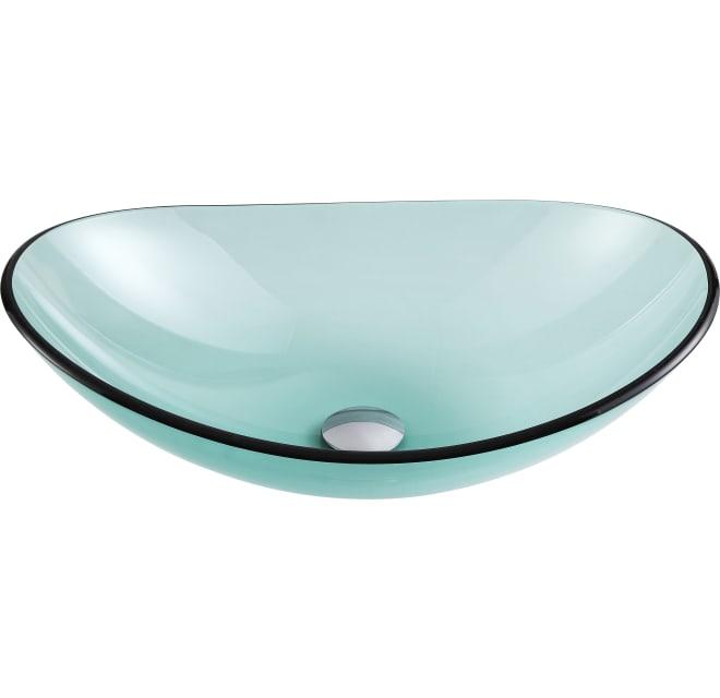 Glass Vessel Build, Green Glass Vessel Bathroom Sinks