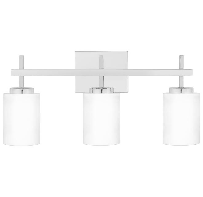 Bellevue Mv28858c1 3 Light 22 Wide, 3 Light Bathroom Vanity Light
