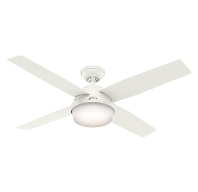 4 Blade Led Outdoor Ceiling Fan, Outdoor Ceiling Fans With Remote Control And Light