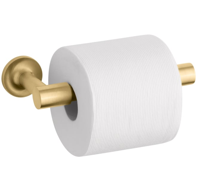 Shop Kohler Purist Wall Mounted Pivoting Toilet Paper Holder from Build.com on Openhaus