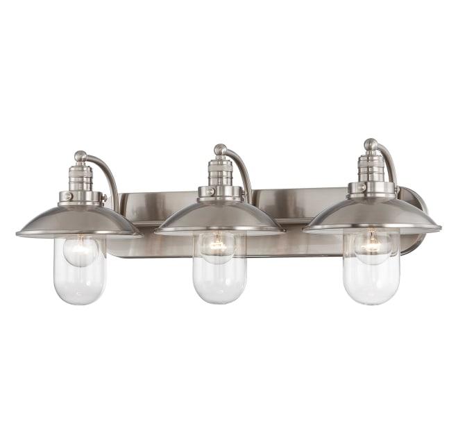 Minka Lavery 5133 84 3 Light Bathroom, 3 Light Bathroom Vanity Light