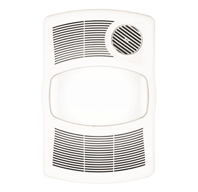 Nutone 765h110l 110 Cfm 2 Sone Ceiling, Bathroom Heater Fan Light Cover