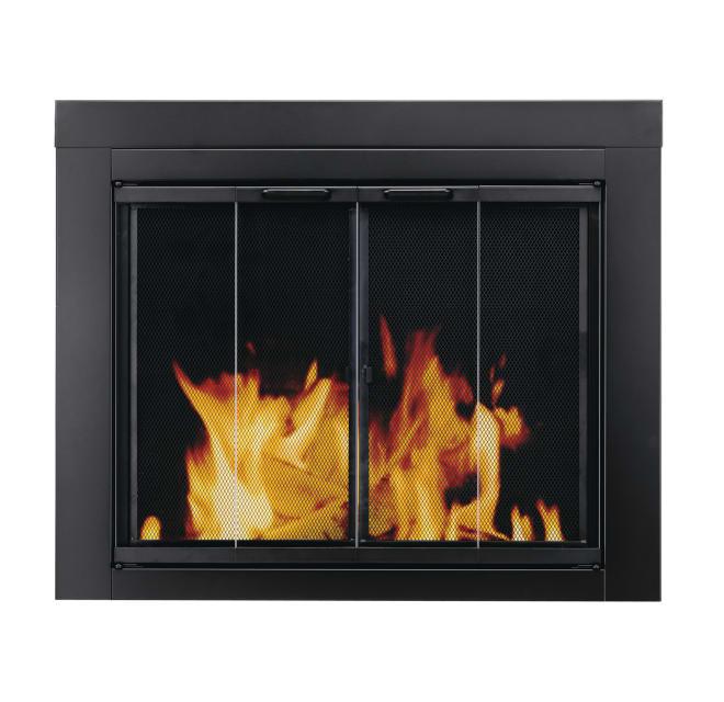 Pleasant Hearth At 1000 Ascot Fireplace Screen Build Com