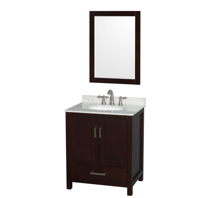 Wyndham Collection Wcs141430sescxsm, 30 Inch Bathroom Vanity Cabinet Only