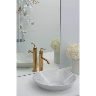 Shop Kohler Purist 1.2 GPM Single Hole Bathroom Faucet with Pop-Up Drain Assembly from Build.com on Openhaus