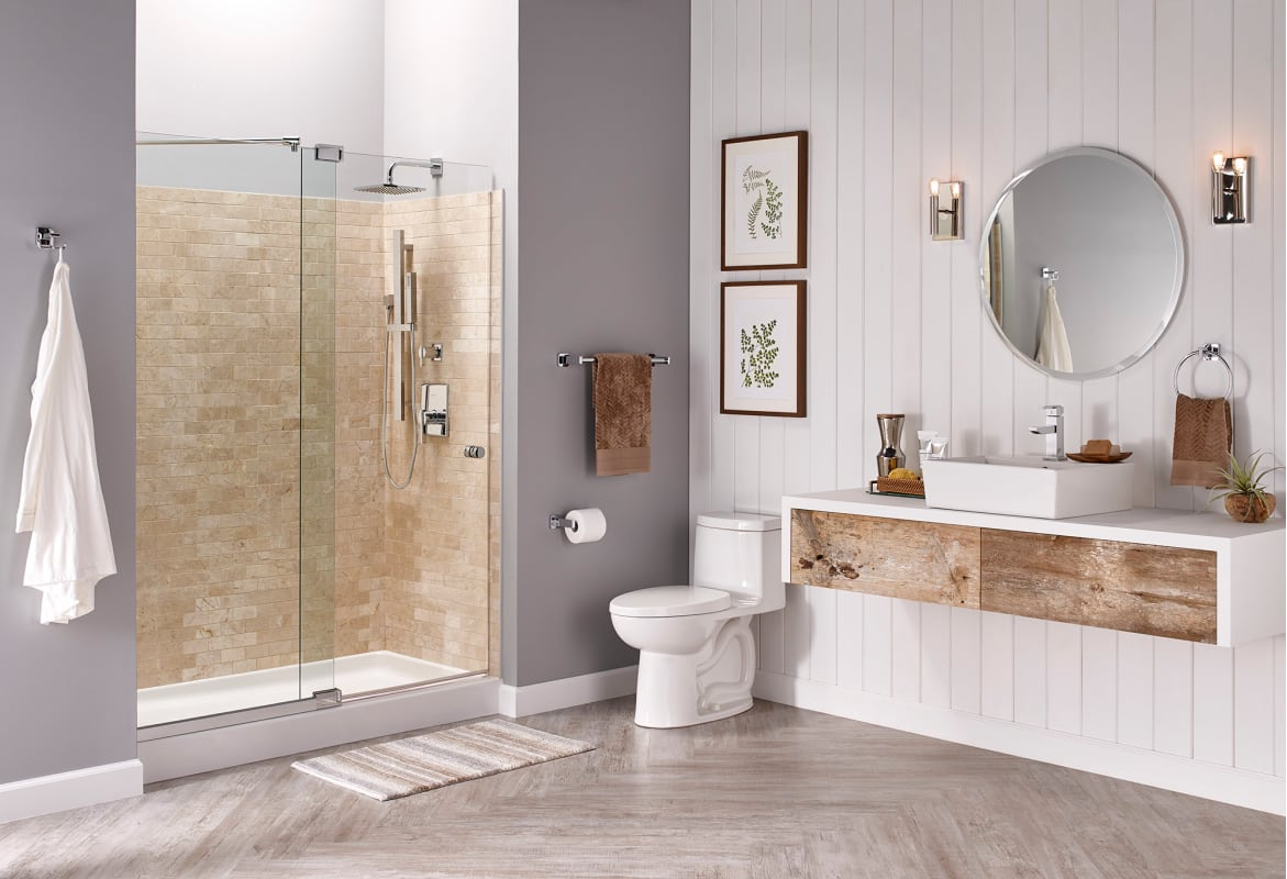 In white by american standard for Bathroom remodel under 5 000