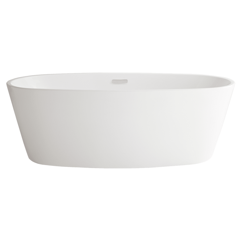 In white by american standard for Acrylic soaker tub