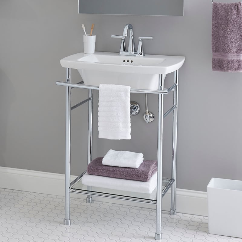 pedestal bathroom sinks. American Standard 0445 004 Lifestyle Image 3  Faucet com 0445004 020 in White by