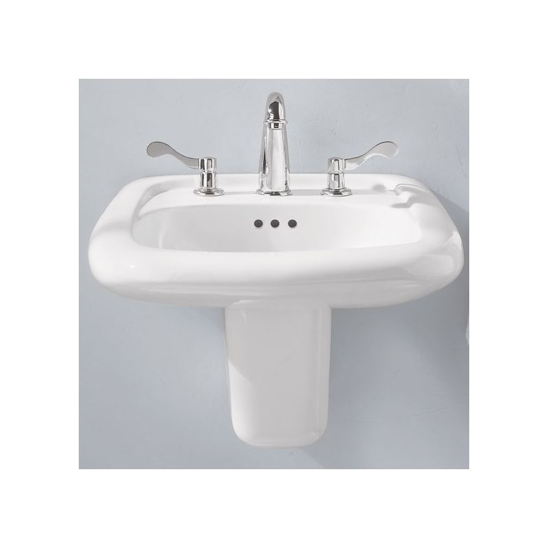 Bathroom Sinks Porcelain faucet | 0958.008ec.020 in whiteamerican standard