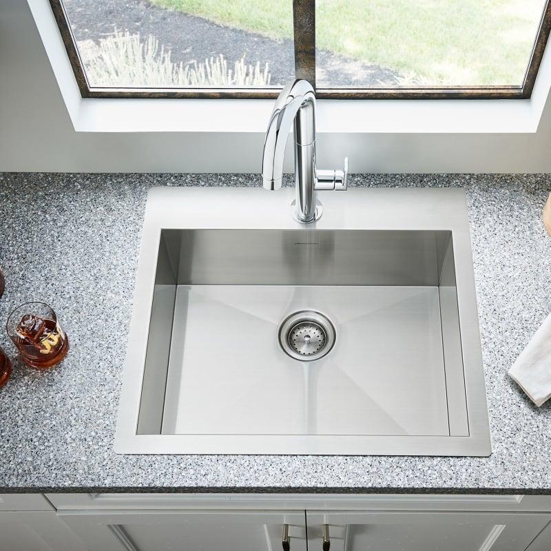 Quartz Vs Acrylic Vs Cast Iron Kitchen Sinks