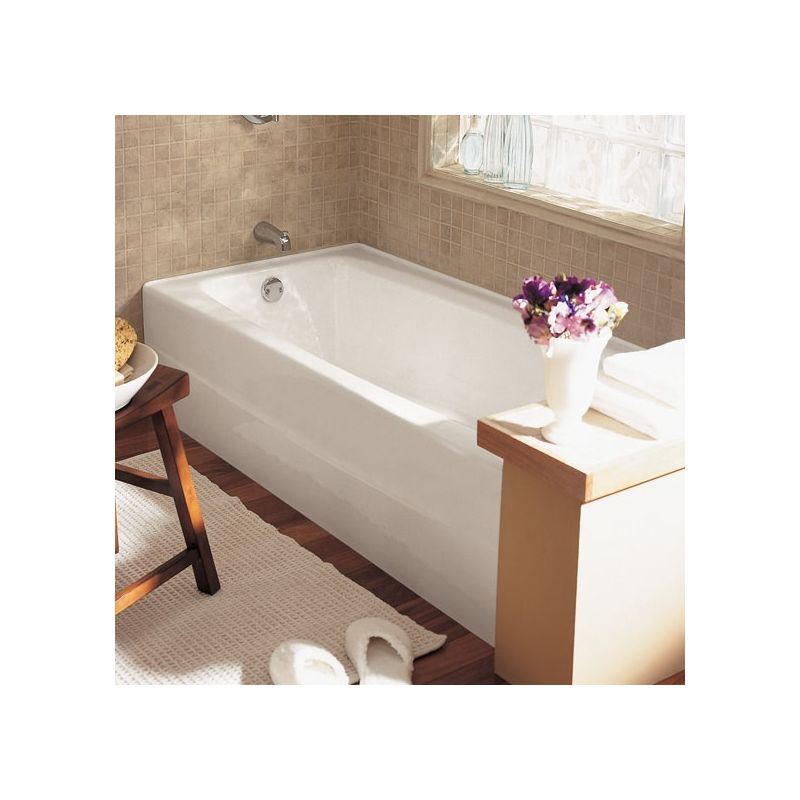 Kohler cast iron tub vs acrylic acrylic shower stall for Cast iron vs acrylic tub