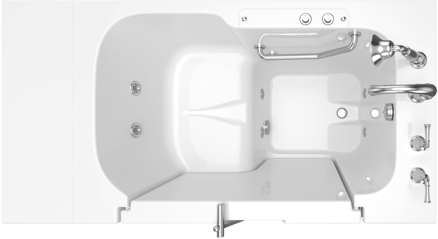 Faucet Com 3252od 709 Wrw Pc In White Polished Chrome
