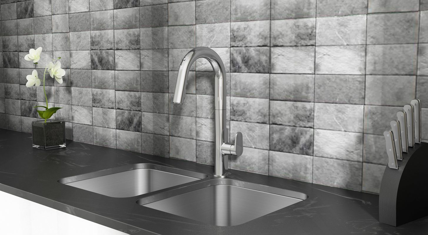 Faucet Com In Stainless Steel By American Standard