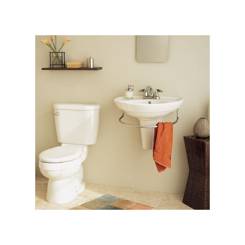 american standard pedestal sink lowes with towel bar application marina installation