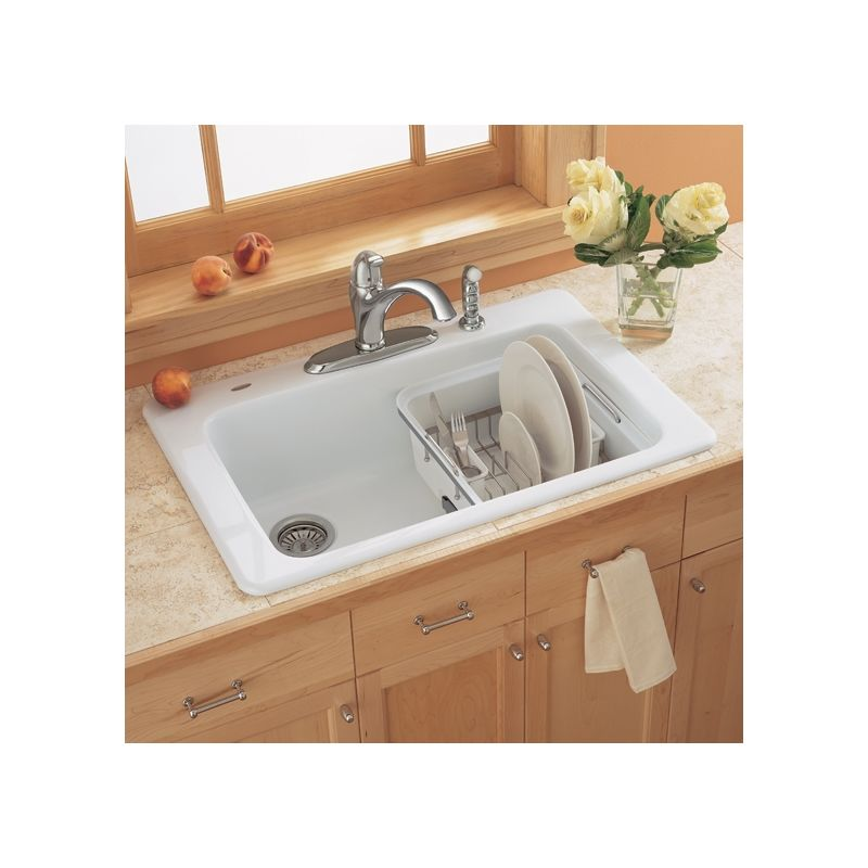 discontinued kitchen sinks faucet 7193 804 345 in bisque by american standard 3347