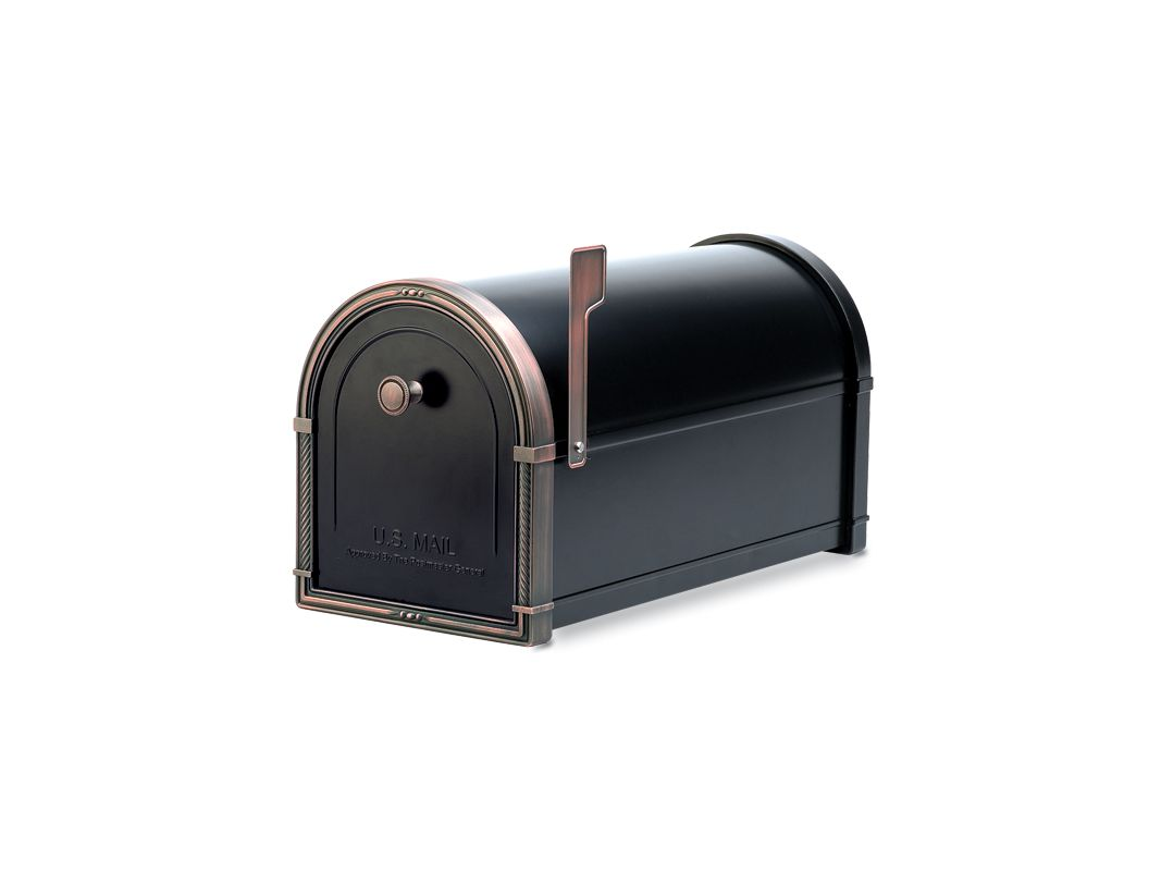 Architectural Mailboxes 5505b Black With Antique Copper
