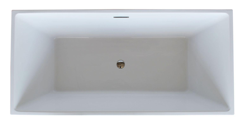 Acrylic Bathroom Sink Faucetcom Av6731gdsxcwxx In White By Avano
