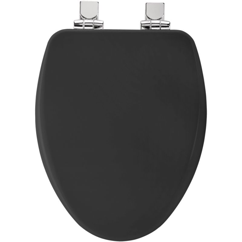 Bemis 19170chsl 047 Black Elongated Toilet Seat With