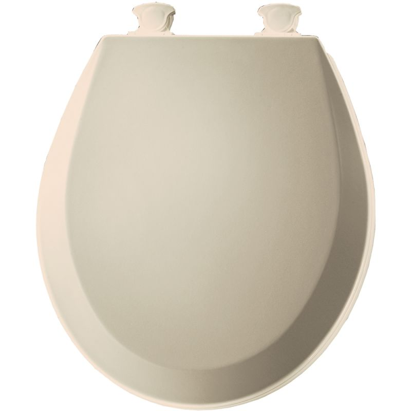 Bemis 500ec 146 Almond Round Closed Front Toilet Seat And