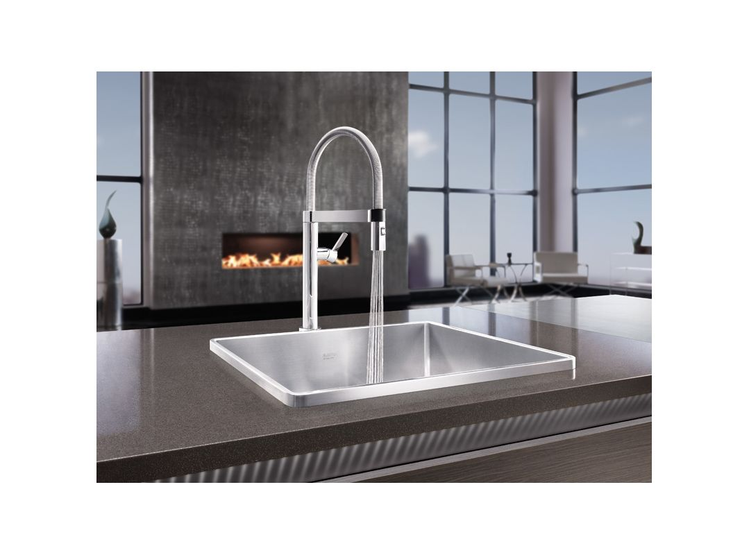faucet com 441622 in chrome by blanco alternate view