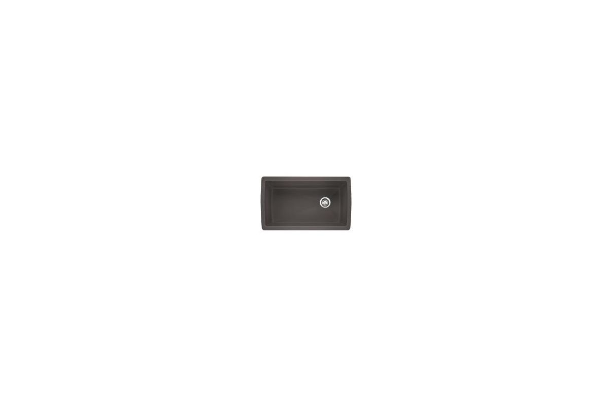 Cinder Blanco Sink : Blanco 441764 Cinder Diamond 16-1/2
