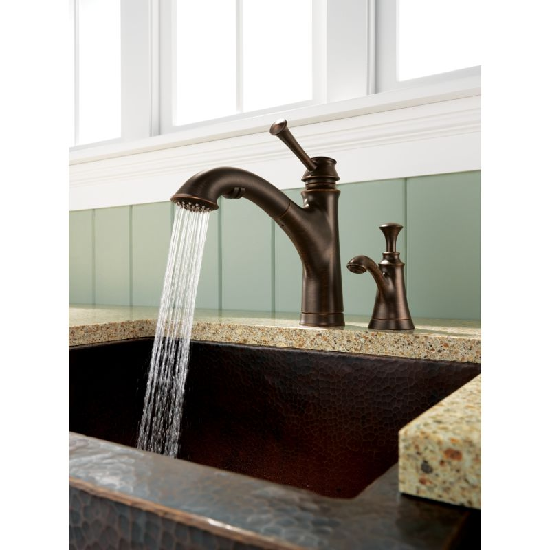 Oil Rubbed Bronze Kitchen Faucet With Soap Dispenser Kitchen