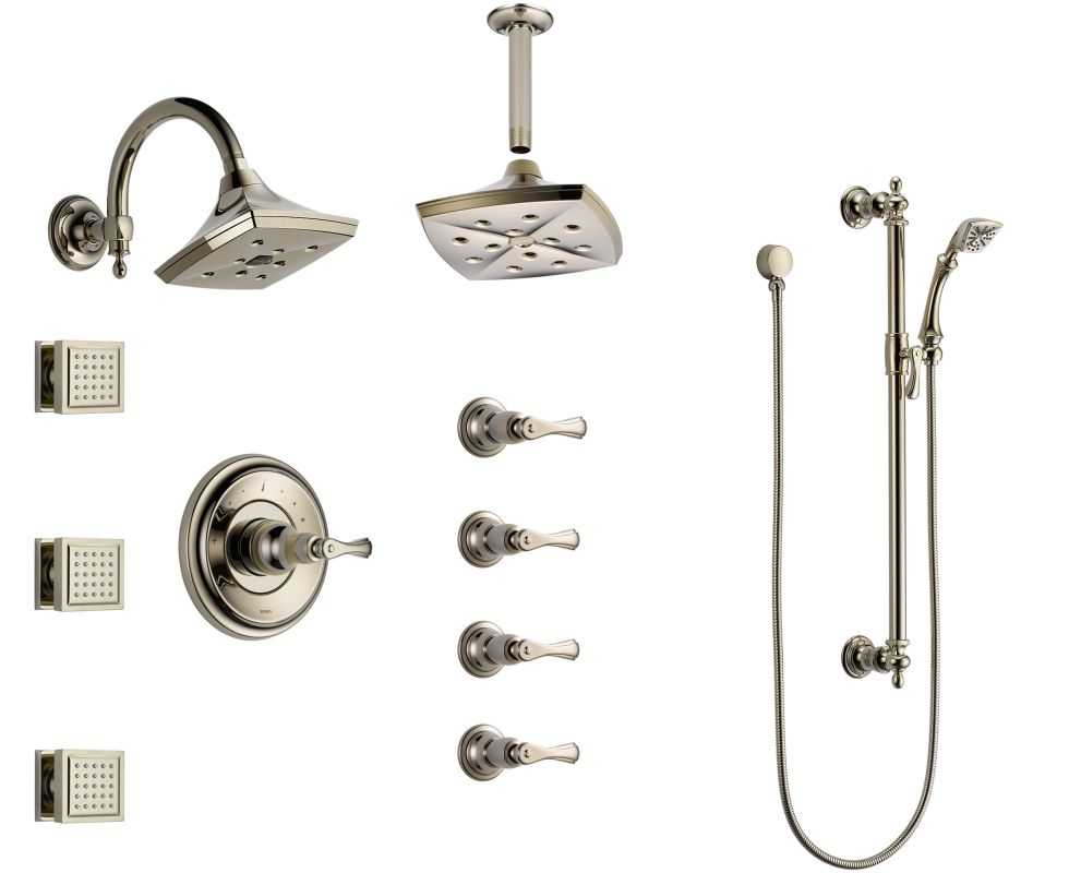 Brizo Bss Charlotte T66t04 Pn Brilliance Polished Nickel