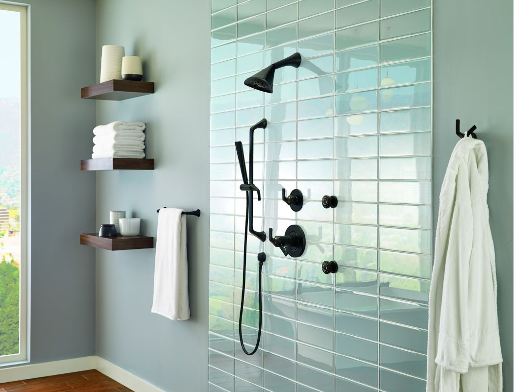 7 Faucet Finishes For Fabulous Bathrooms: T60250-BL In Matte Black By Brizo