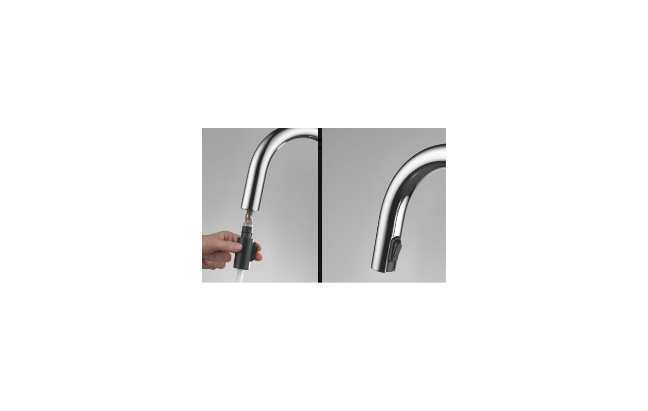 Brizo Kitchen Faucet Reviews Faucetcom 64020lf Ss In Brilliance Stainless By Brizo