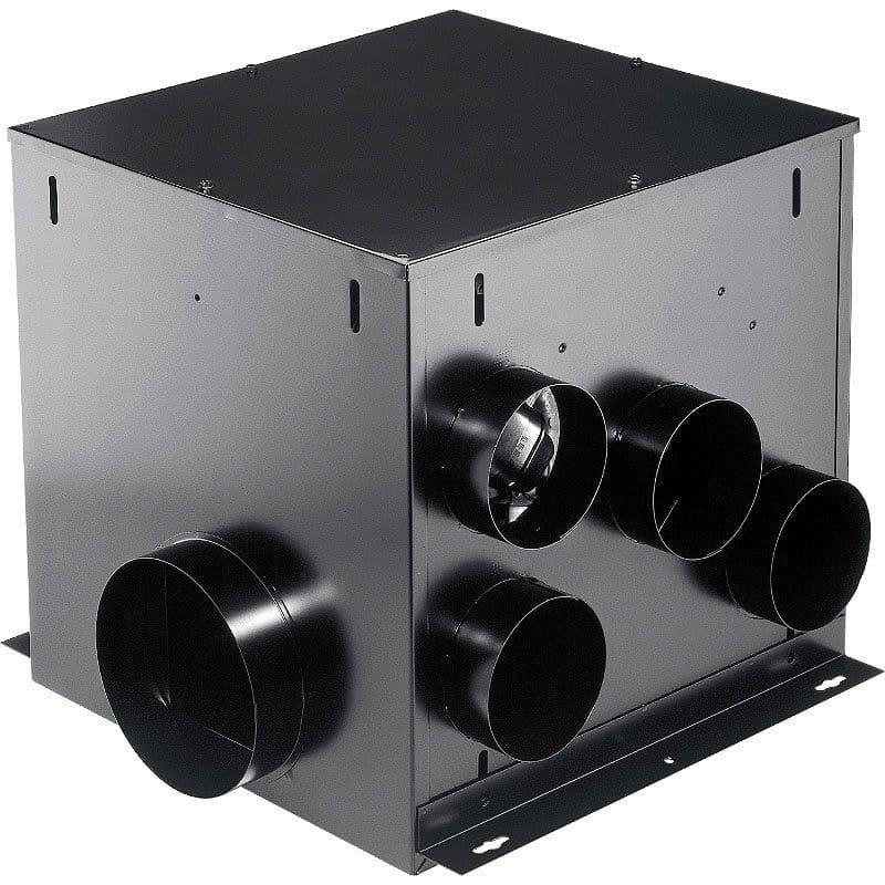 Broan Mp280 White 290 Cfm 3 Sone Hvi Certified Multi Port In Line Ventilator