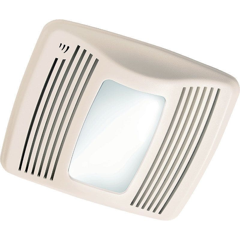 Broan Qtxe110sflt White 110 Cfm 0 7 Sone Ceiling Mounted Energy Star Rated And Hvi Certified