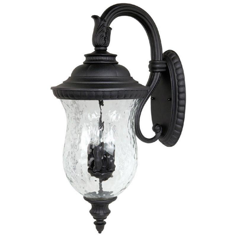 Capital Lighting 9784bk Black Ashford 4 Light Outdoor Wall Sconce