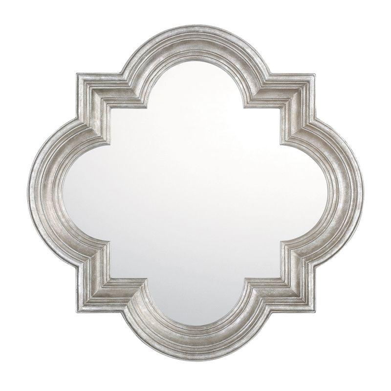 Capital Lighting M343493 Antique Silver 34 Quot Quatrefoil