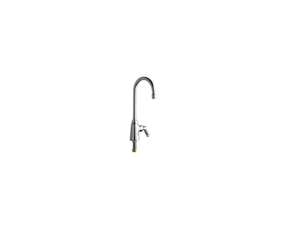 Chicago Faucets 350 Abcp Chrome Commercial Grade Single