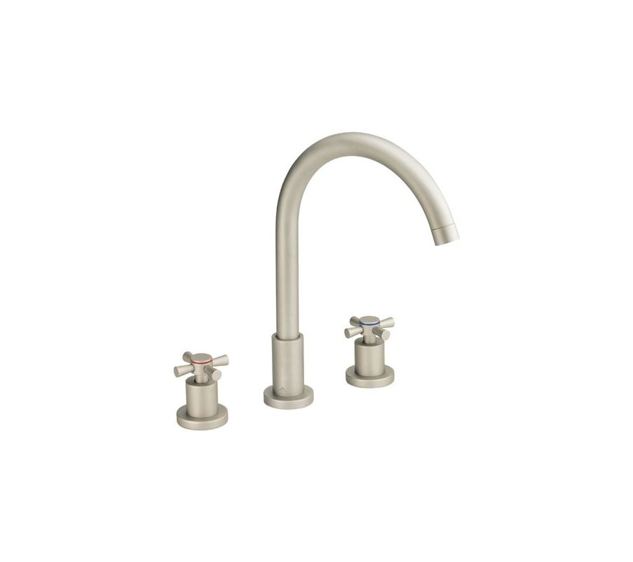 danze d304059bn brushed nickel widespread bathroom faucet from the