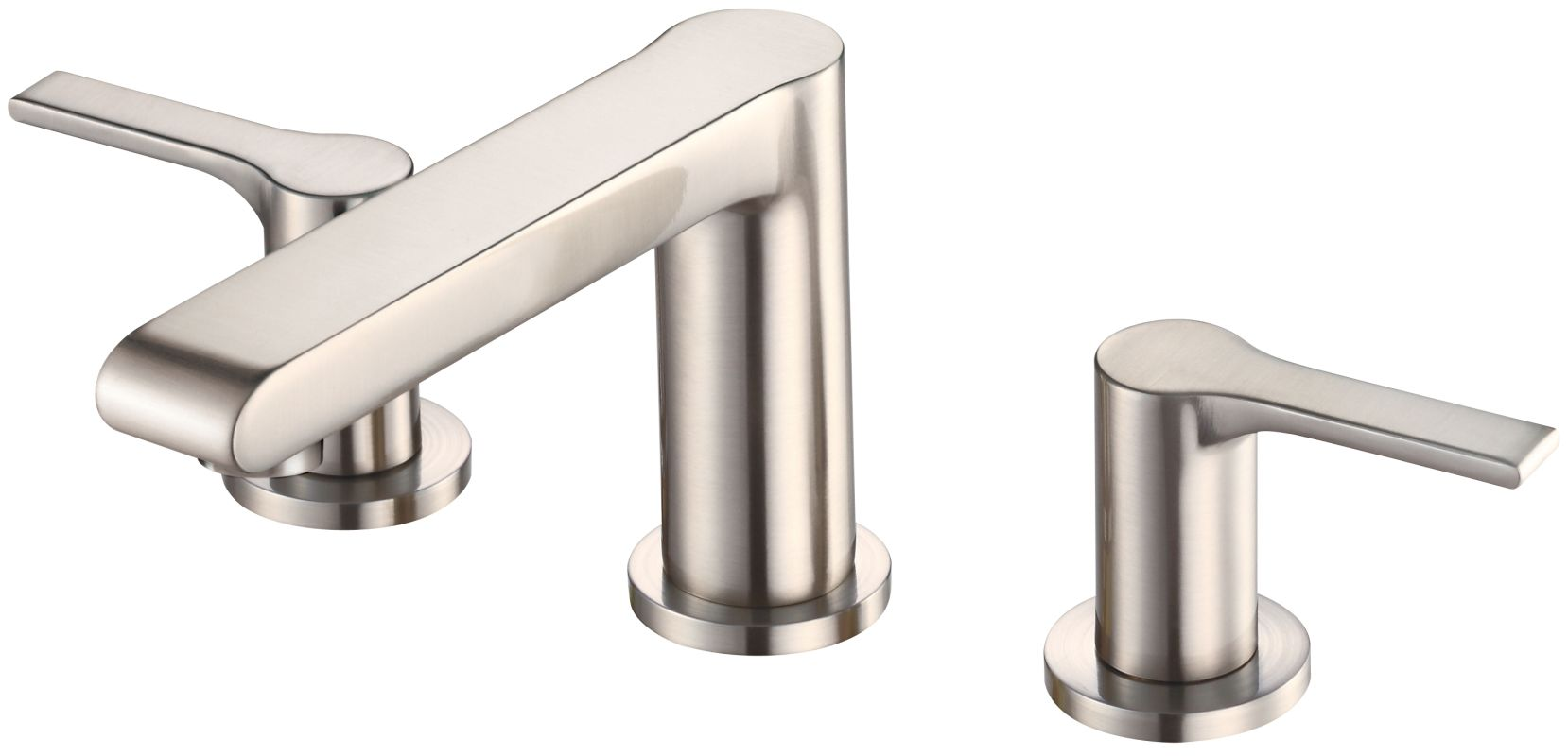 danze d304087bn brushed nickel south shore double handle bathroom