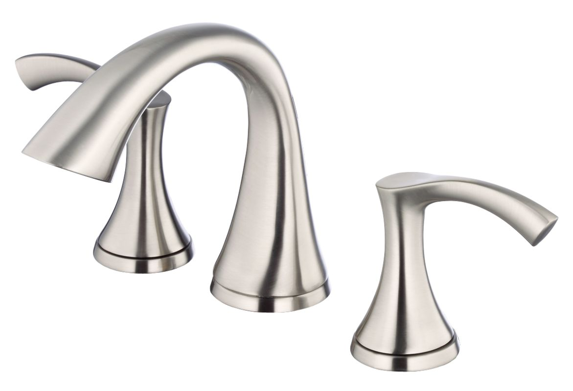danze dh304025bn brushed nickel widespread bathroom faucet from the