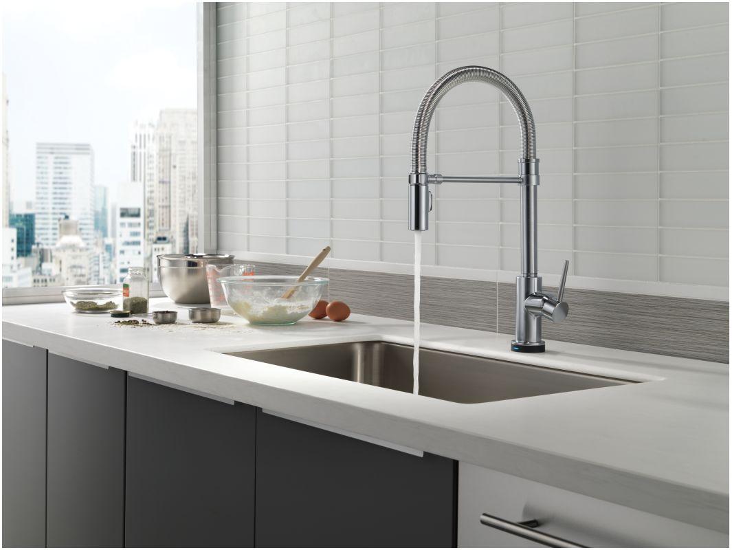 f delta trinsic kitchen faucet Alternate View