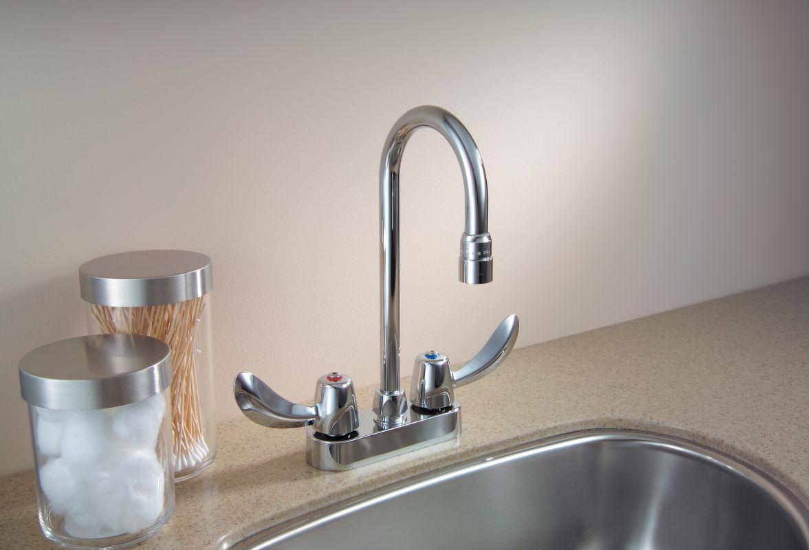 Bathroom Faucet Gooseneck faucet | 27c4842 in chromedelta