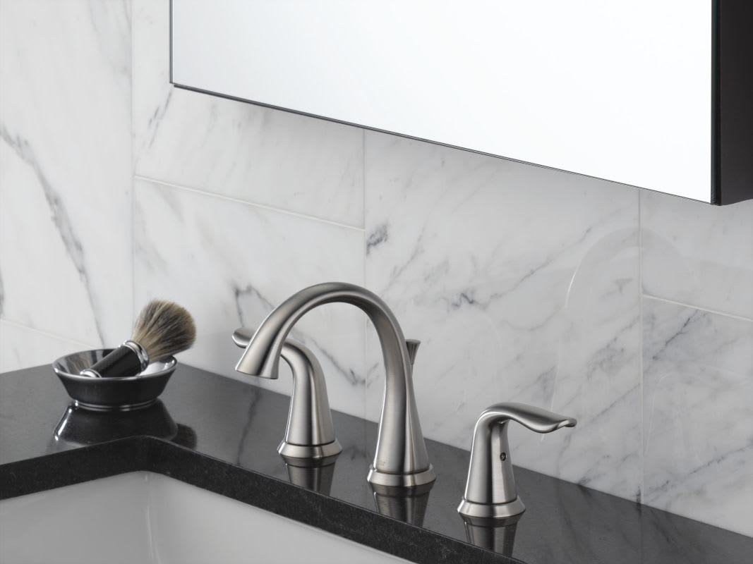 Bathroom Sink Faucets: 3538-SSMPU-DST In Brilliance Stainless By Delta