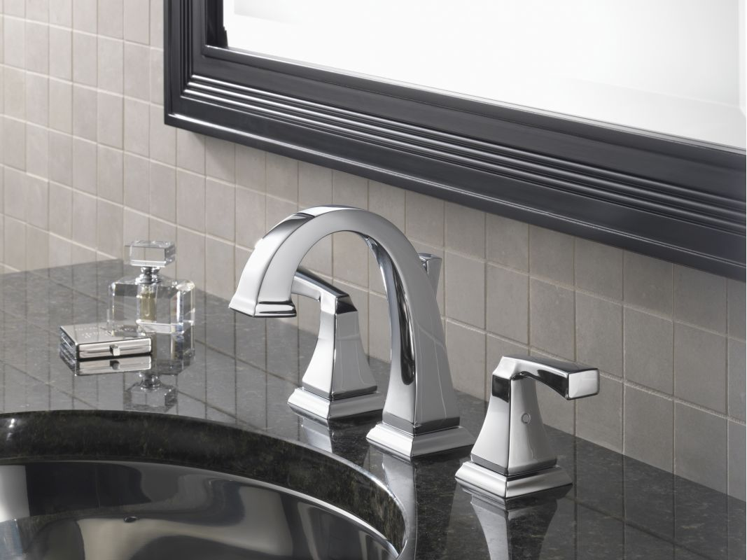 Faucet Com 3551lf Pn In Brilliance Polished Nickel By Delta